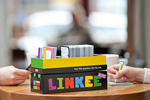 Linkee 4 Little Questions. 1 Big Link. - Juego de Preguntas (John Adams 9995) (Importado)