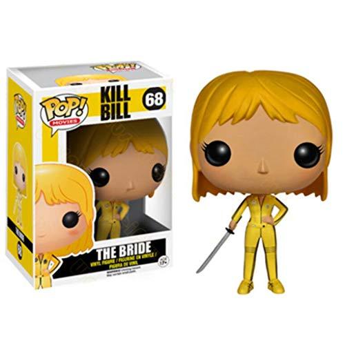 LLFX Pop Figuras Kill Bill Vol.1 Películas: La 10cm Bride Figura Juguetes de colección de la muñeca de los Ornamentos, Multicolor for Boys