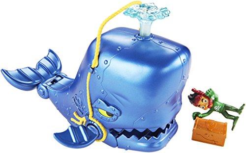 Mattel CGJ89 Fisher-Price - Capitán Jake y los Piratas de Nunca Jamas Great Whale Adventure