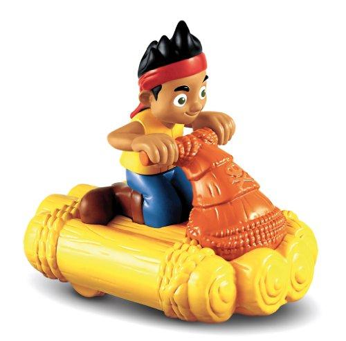 Mattel - Figuras de acción, Jake y los Piratas de Nunca Jamás. Jake en Bote de Carreras (X1218)