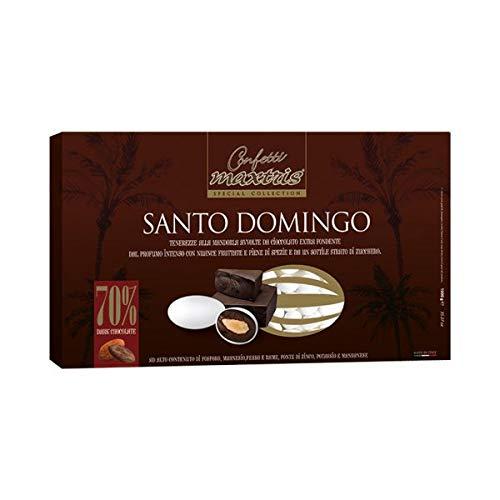 Maxtris Confeti 1kg Santo Domingo Extra en Chocolate Fundido con Pasta de Cacao