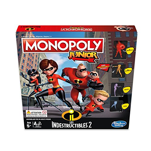 Monopoly–Juego Junior indestrucibles, e1781