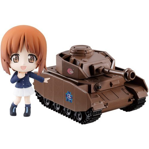 Most lottery premium Girls und Panzer theater version tanks road is Common Practice maiden! A prize Oarai girls' school west to live ho Chibikyun Character & Tank Set