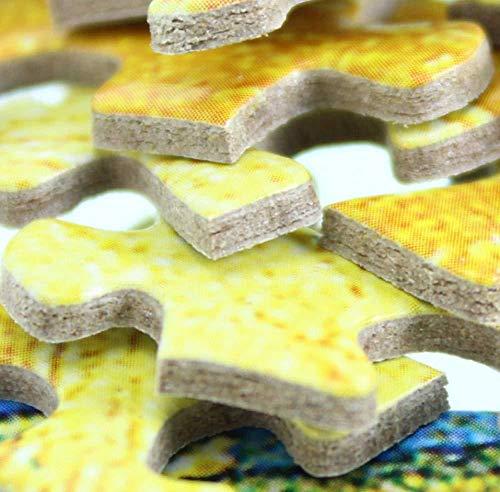 N/ Puzzles 1000 Piezas Juegos Educativos Estatua En Templo Adecuado para La Decoración del Hogar.