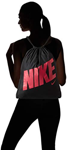 Nike Y Nk Gmsk-GFX Bolsa de Deporte, Unisex niños, Black/Black/(Rush Pink), MISC