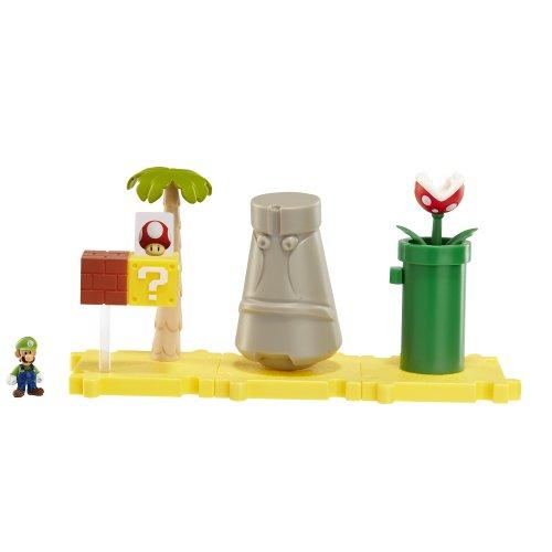 Nintendo - Figura Layer Cake Desert Con Luigi