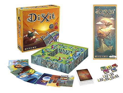 Outletdelocio. Pack Juego de mesa Dixit Clasico + expansion Dixit 5: Daydreams. Edicion Española