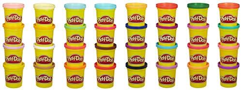 Play-Doh- Mega Pack De 36, Botes (Hasbro 36834F03)