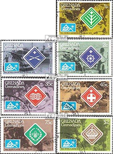 Prophila Collection Granada-Granadinas 87-93 (Completa.edición.) 1975 Jamboree Mundial (Sellos para los coleccionistas) Rotary/Lions/Francmasón/Pathfinder