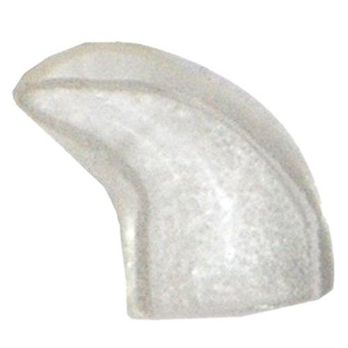Protector de una de gato - SODIAL(R) 20 piezas casquillos del clavo suaves para gato animal domestico patas de control de garra + pegamento adhesivo -Naturales, tamano M