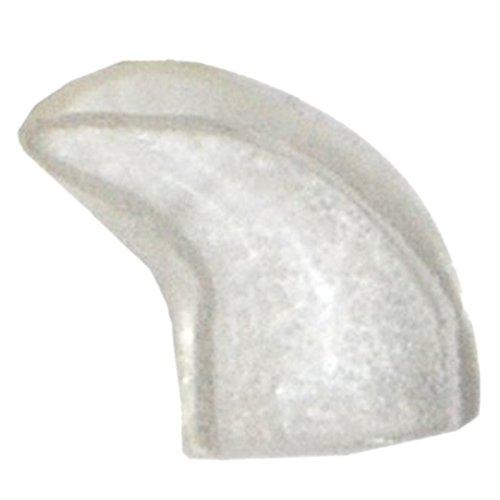 Protector de una de gato - TOOGOO(R) 20 piezas casquillos del clavo suaves para gato animal domestico patas de control de garra + pegamento adhesivo -Naturales, tamano M