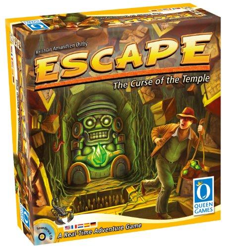 Queen Games 60901 - Juego de Mesa Escape: La maldición del Templo