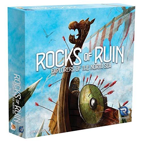 Renegade Game Studios- Raiders The North Sea: Rocks of Ruin, Multicolor (Pegasus Spiele RGS00590)