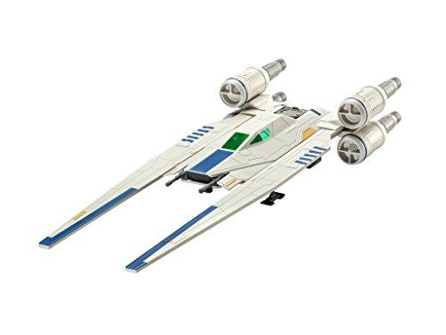 Revell Star Wars Build & Play Rebel U-Wing Fighter, con Luces y Sonidos, Escala 1:100(6755)(06755), 28,0 cm de Largo
