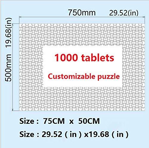 RHRW Puzzle de 1000 Piezas de Rompecabezas de Madera IQ Challenge Tokyo West View Juego de descompresión niños Pared del hogar decoración del hogar