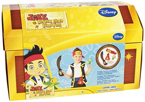 Rubies - Cofre de Jake y los piratas de Nunca Jamás con accesorios (30314)