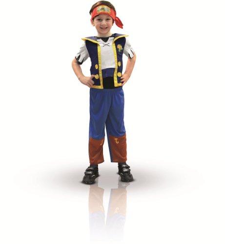 Rubies Jake y los piratas de Nunca Jamás - Disfraz de Jake, talla 2-3 años 881214-TOD