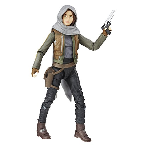 Star Wars - Figura Rogue One Sargento Jyn ERSO Jedha, 15 cm (Hasbro B9394ES0)