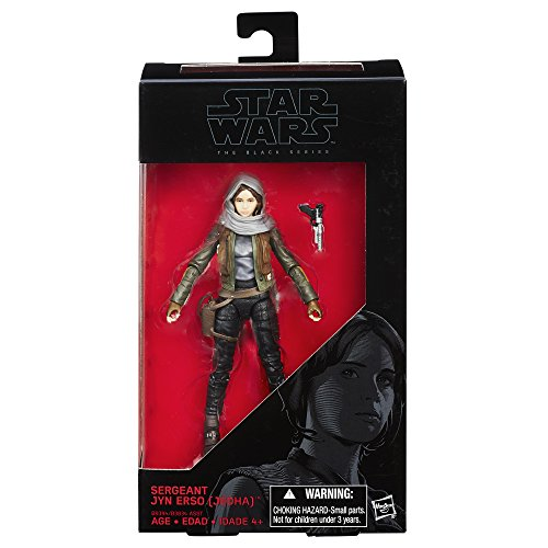 Star Wars The Black Series Rogue One Sargento Jyn ERSO