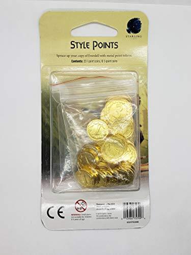 Starling Games everdell: Deluxe Metal Moneda simbólica Paquete de actualización