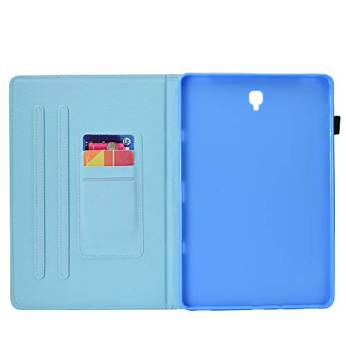 UK-Cherry Galaxy Tab S4 10,5 Funda, Voltear Funda Protectora para Samsung Galaxy Tab S4 10,5 Pulgada (Gato Blanco)