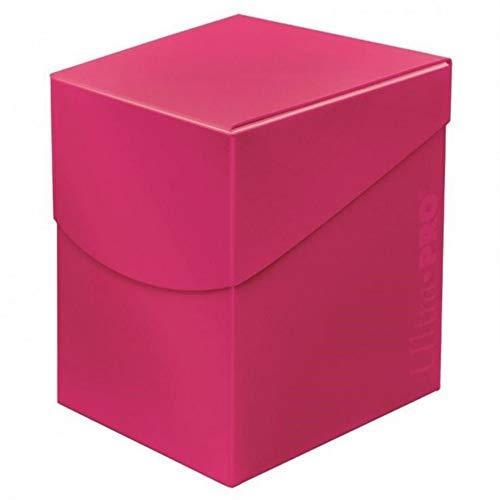 Ultra Pro 85691 Eclipse Pro 100+ Caja de Cubierta, Color Rosa, hot pink