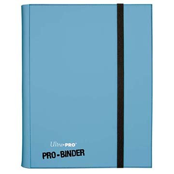 Ultra Pro E-82846 9-Pocket Pro-Binder, Adultos Unisex, Hellblau/Light-Blue