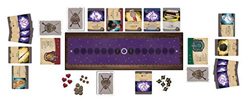 USAopoly Harry Potter Hogwarts Battle Defense Against The Dark Arts Deck Building Game