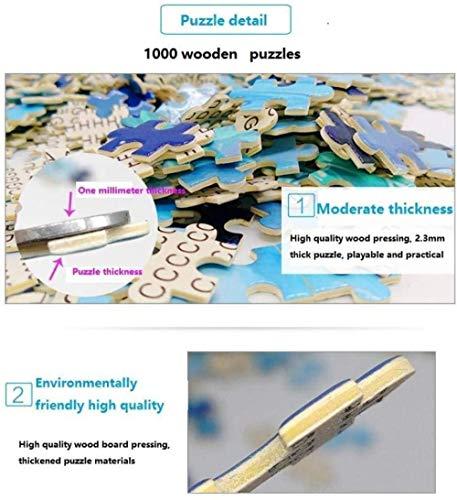 VKEXVDR Puzzle Adulto 1000 Piezas Toy 4Años 3D Maestro Del Oso Kung Fu