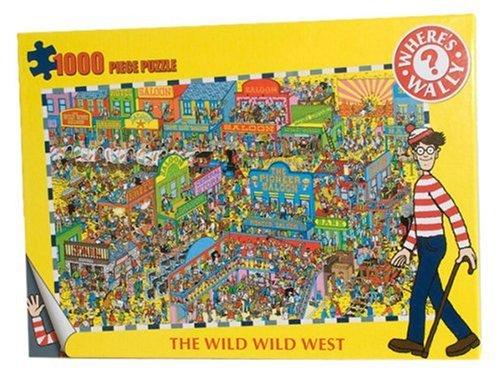 Where's Wally Wild Wild West Rompecabezas (1000 Piezas)
