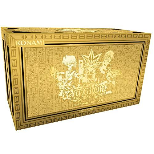 Yu Gi Oh! YGO-LD2-EN Legendary Decks II Caja de mazos de Cartas