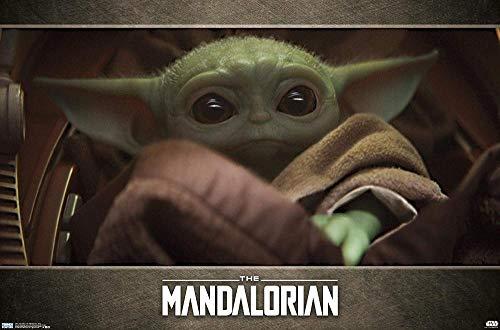 Yzqxiongtu Star Wars: Mandalorian-Eye 1000 Piezas Rompecabezas Mara, Rompecabezas paisajes Juguete para aliviar el estrés Adultos, Rompecabezas Casual para Adolescentes Regalo para niños