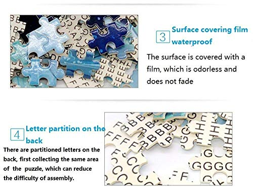 ZXDFG Rompecabezas de 1000 Piezas para Adultos West Vancouver Bridge Fog Woodens Toy Game Explore la Creatividad y la resolución de Problemas Jigsaw