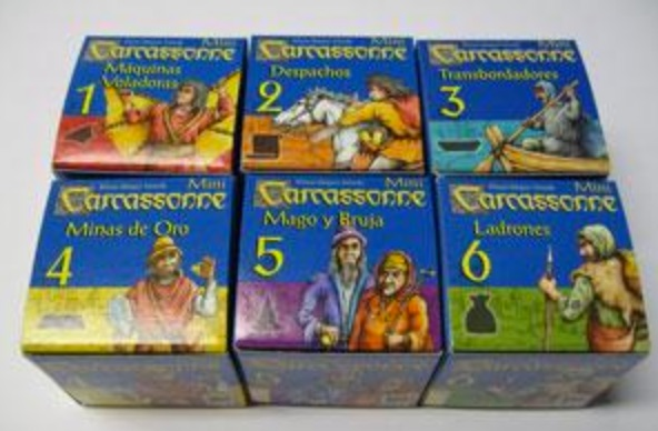 mini expansiones carcassonne