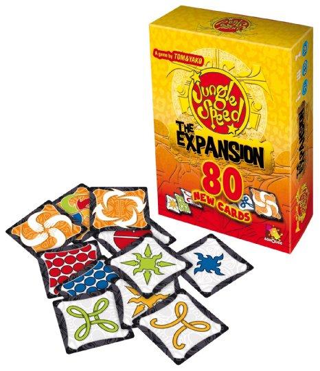 jungle speed expacion con cartas