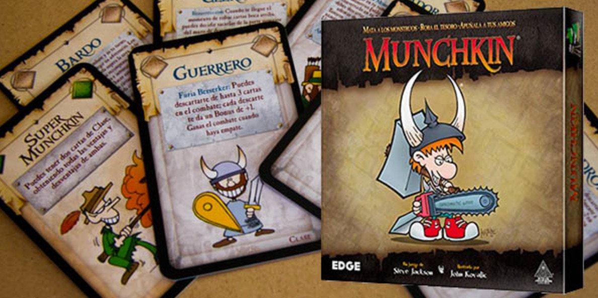 Munchkin juego cartas