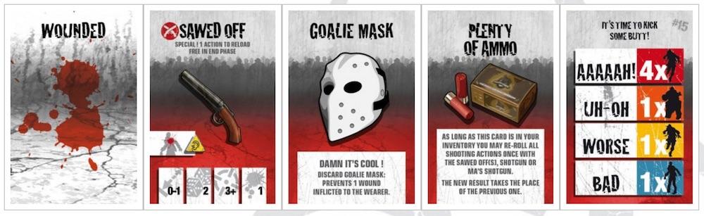 cartas zombicide