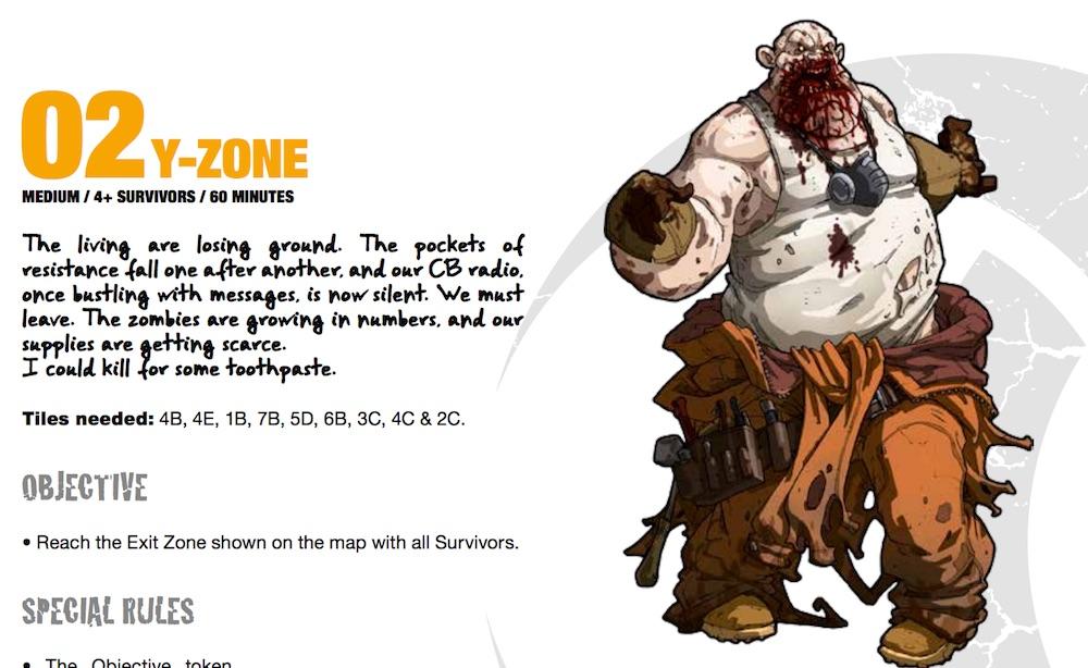 ilustración zombi