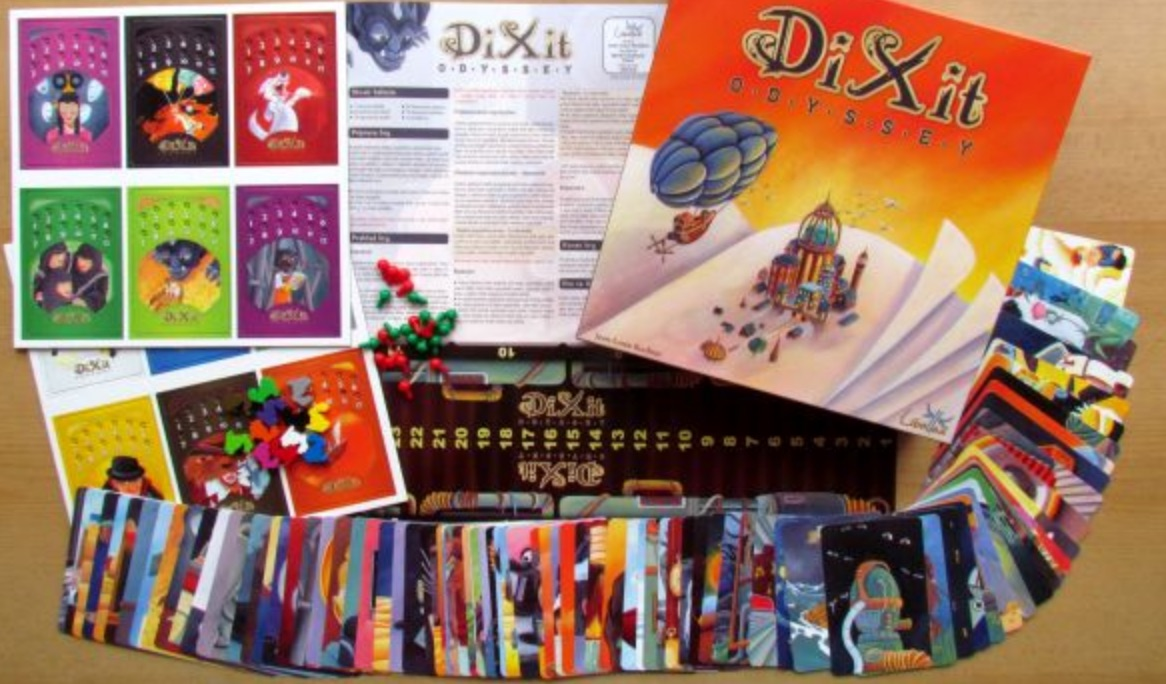 dixit odyssey juego