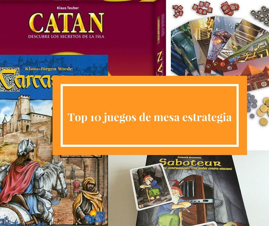 Top 10 Juegos De Mesa Estrategia Jugonesweb