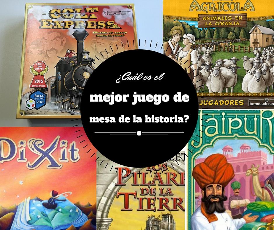 Cu l es el mejor juego de mesa de la historia jugonesweb - Cual es la mejor ciudad de espana ...