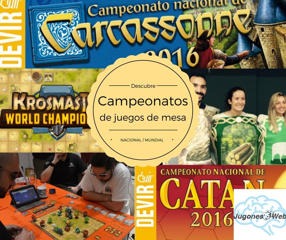 Campeonatos de Juegos de Mesa