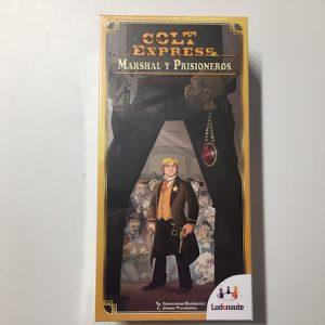 colt express marshal y prisioneros