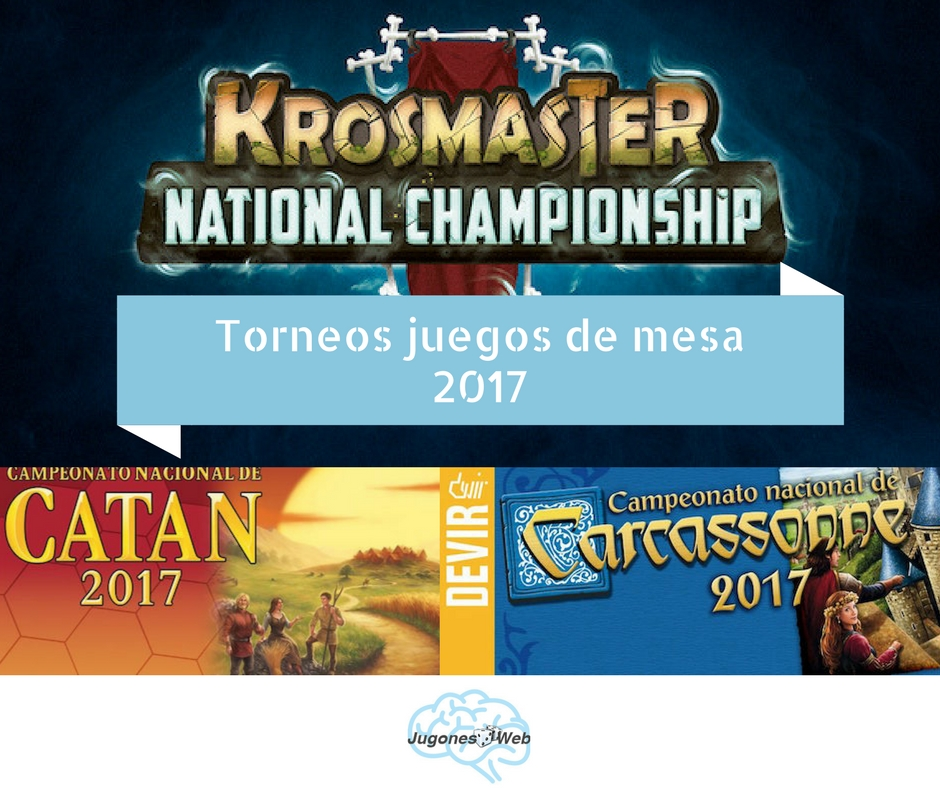 torneos juegos de mesa 2017