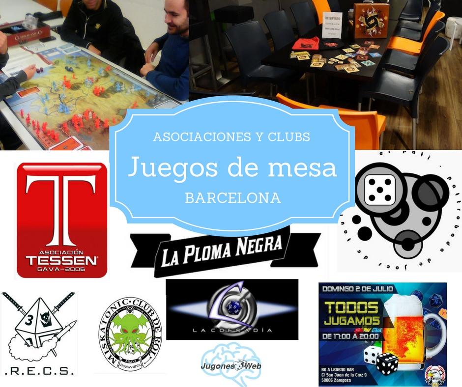 Asociaciones y clubs juegos de mesa Barcelona