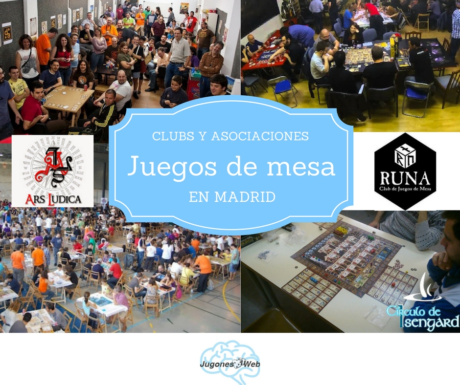 Clubs de Juegos de Mesa Madrid
