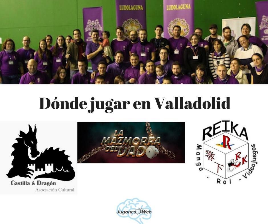 Asociaciones juegos de mesa Valladolid